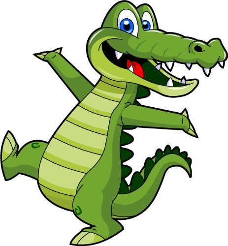 463x500 Cartoon Alligator Clip Art