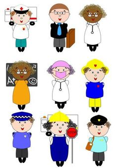 236x338 Community Helpers Clipart (Community Worker Clipart Set 2 Of 2