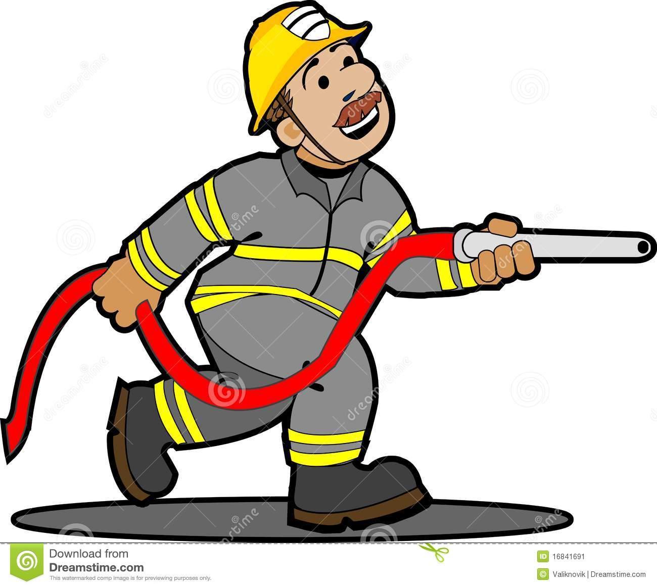 1300x1164 Fireman Clip Art