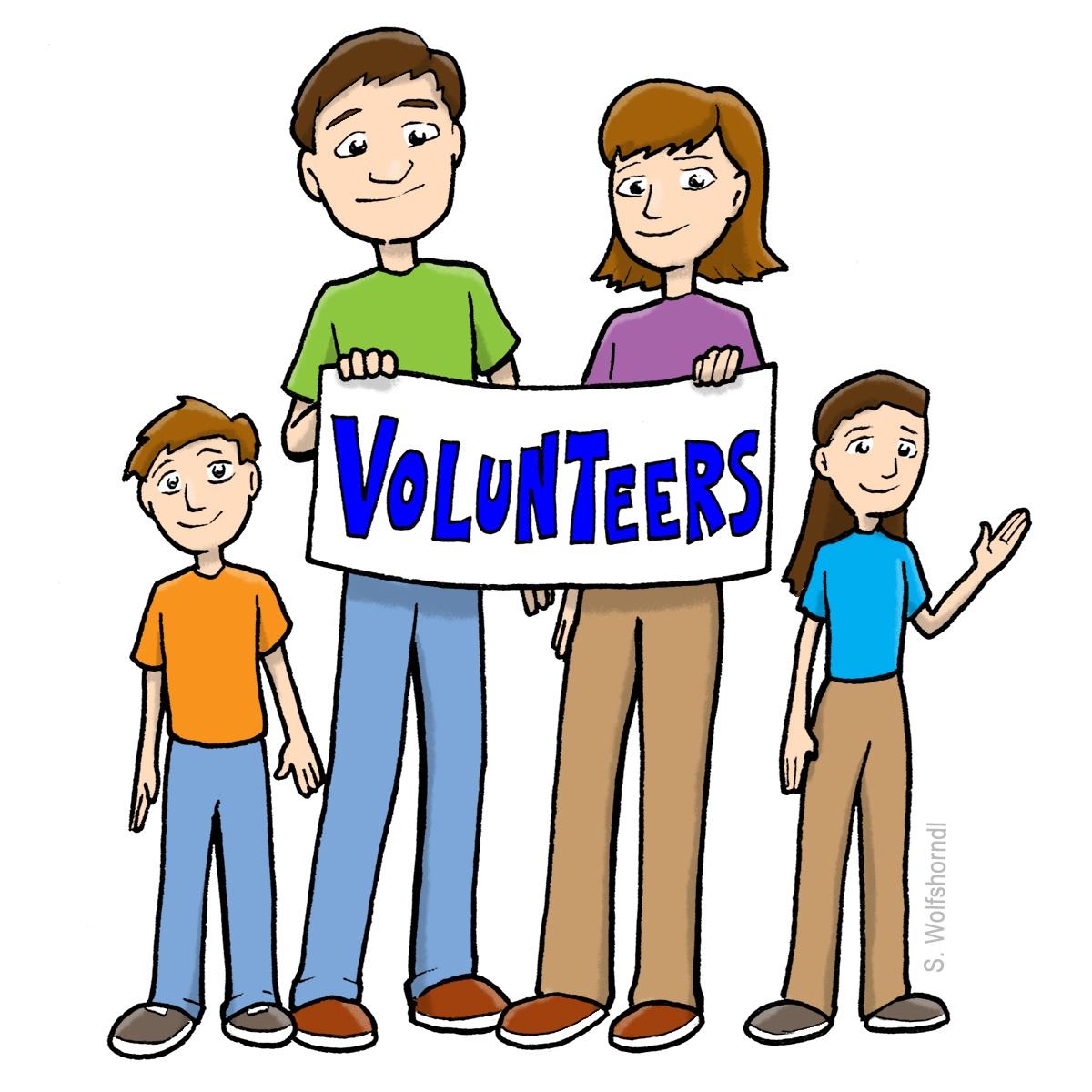 1200x1200 Volunteer Community Service Clip Art Clipart Download