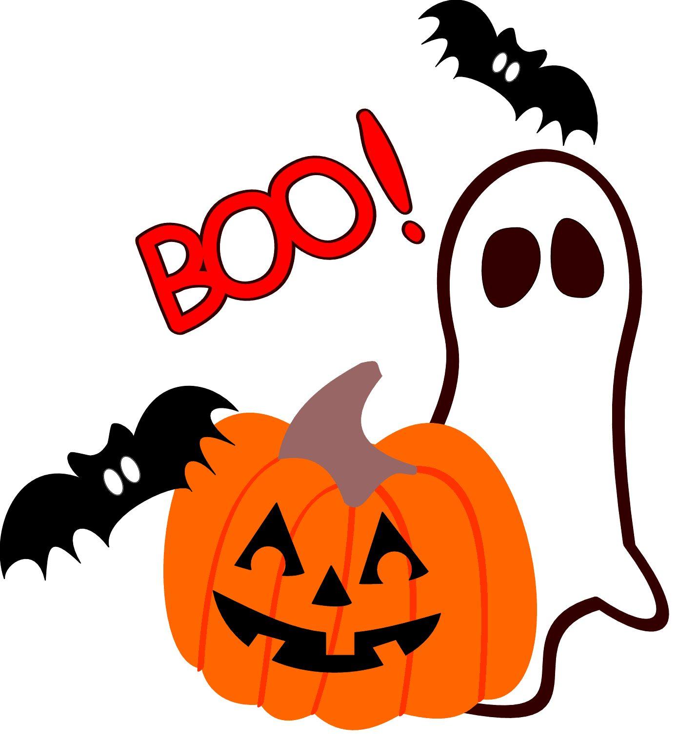 1429x1521 Boo Cute Halloween Clipart