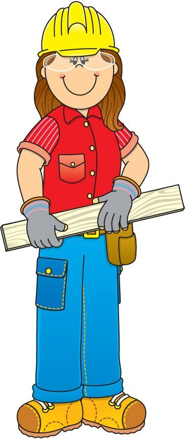 Community Workers Clipart