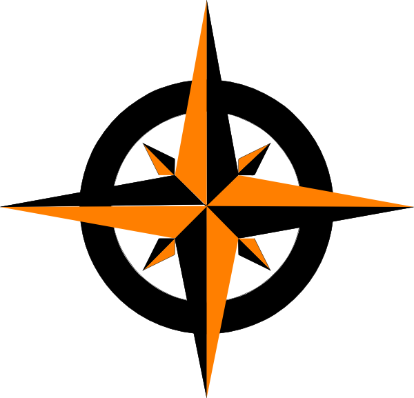 600x577 Compass Rose Variation Clip Art