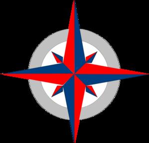 299x288 Compass Clipart Blue