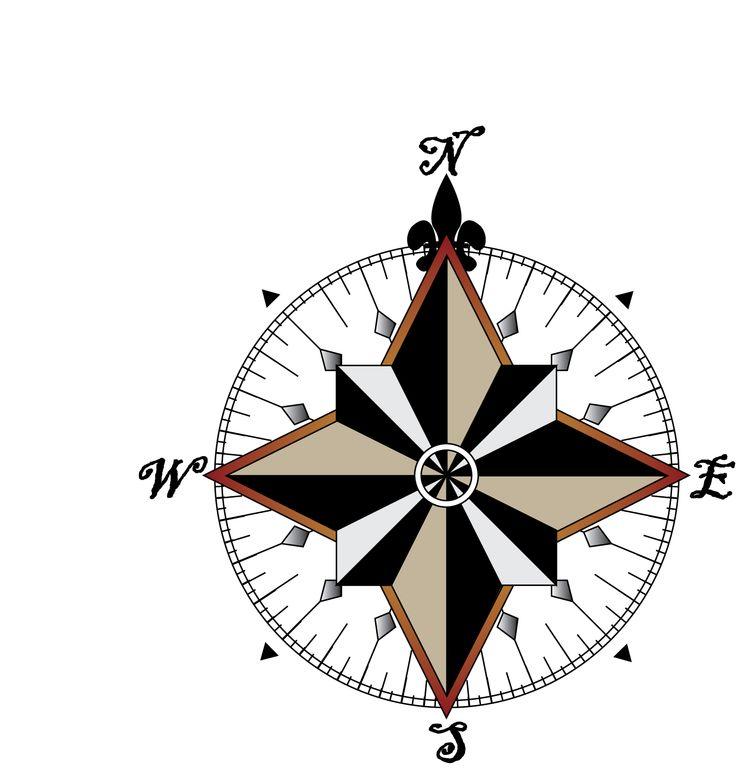 736x783 Pirate Compass Rose Clip Art. Fabulous Simple Compass Rose