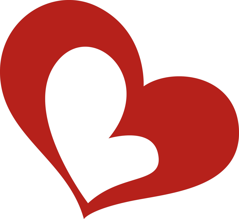 3000x2758 Love Heart Clipart Z1corhd