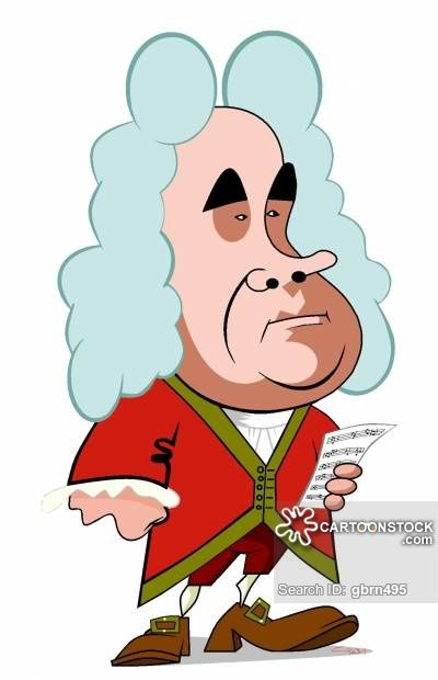 400x620 George Frideric Handel By Gary Brown Picados Bolillos