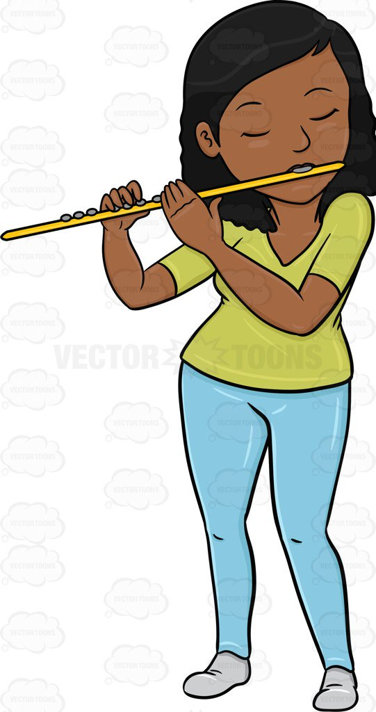 541x1024 A Black Woman In Deep Concentration And Passion While Playing