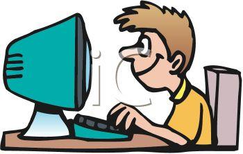 350x222 Boy Child Working On Computer