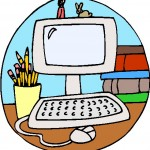 150x150 Free Computer Clipart For Kids Image