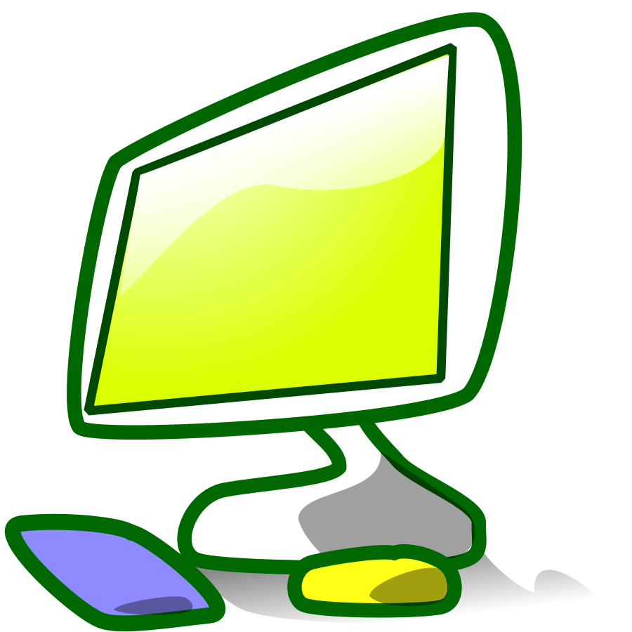 900x900 Image Of Computer Clipart