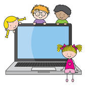 170x170 Kids And Computer Clipart Collection