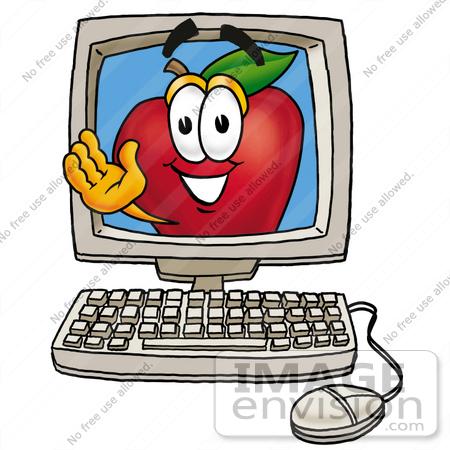 450x450 Apple Computer Clipart 1194985665233187494laptop 01