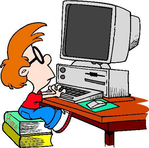 490x487 Clip Art Computer Computers