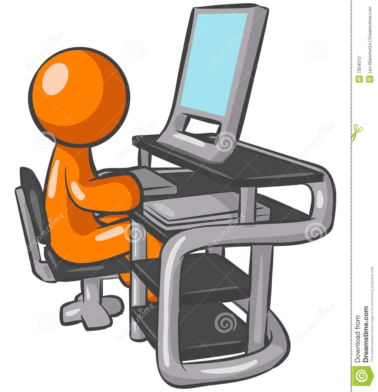 1256x1300 Clipart Computer User