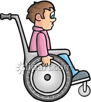 310x350 Free Wheelchair Computer Clipart For Kids Collection