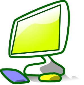 297x298 Computer Clipart For Kids Computer Clip