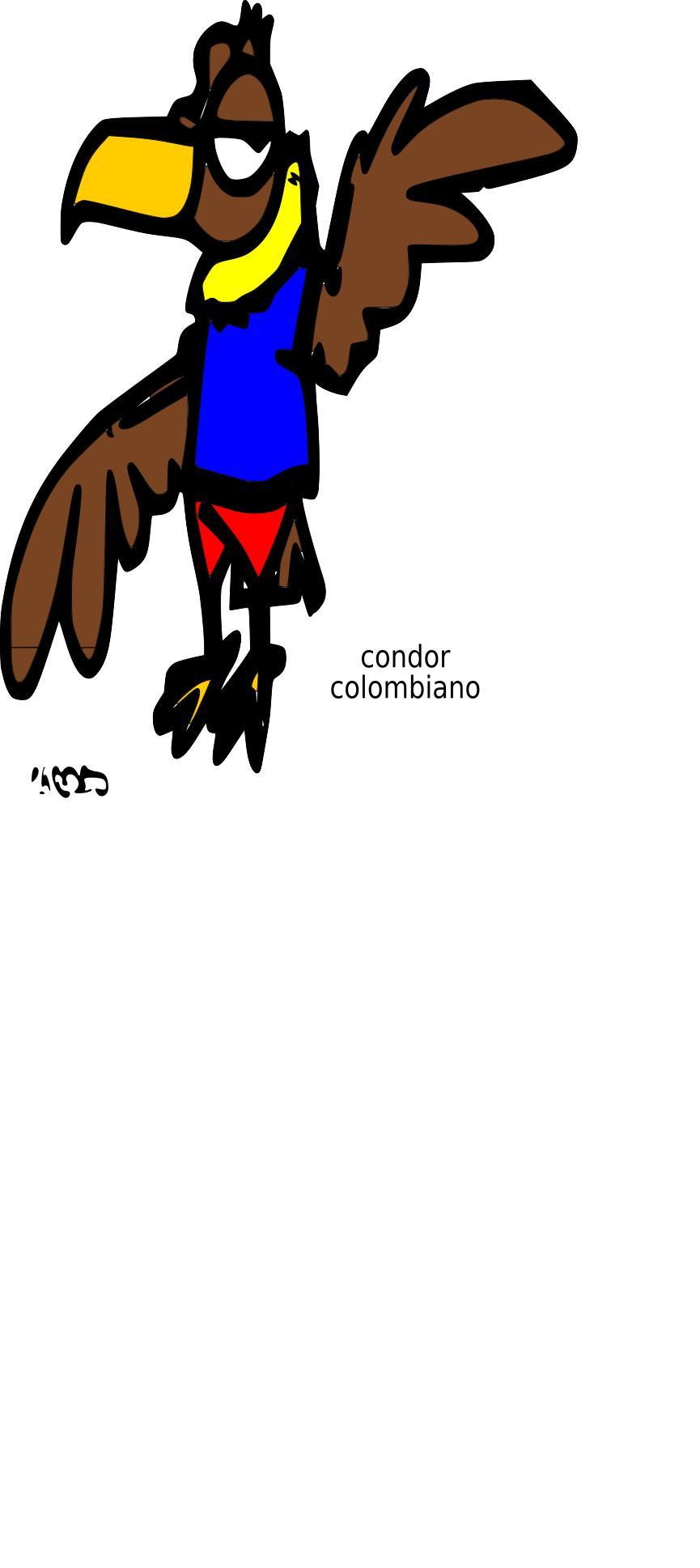 865x1937 Condor Clipart