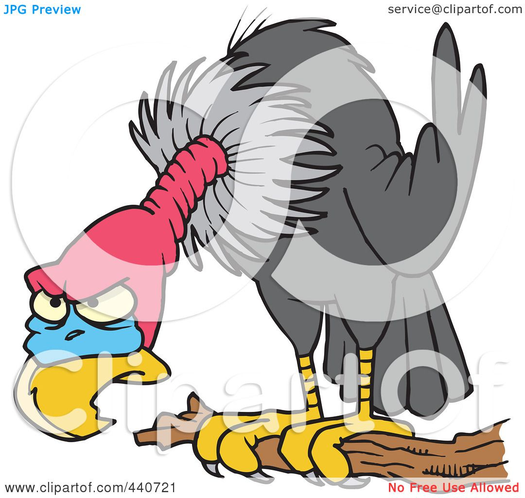 1080x1024 Royalty Free (Rf) Clip Art Illustration Of A Cartoon Perched