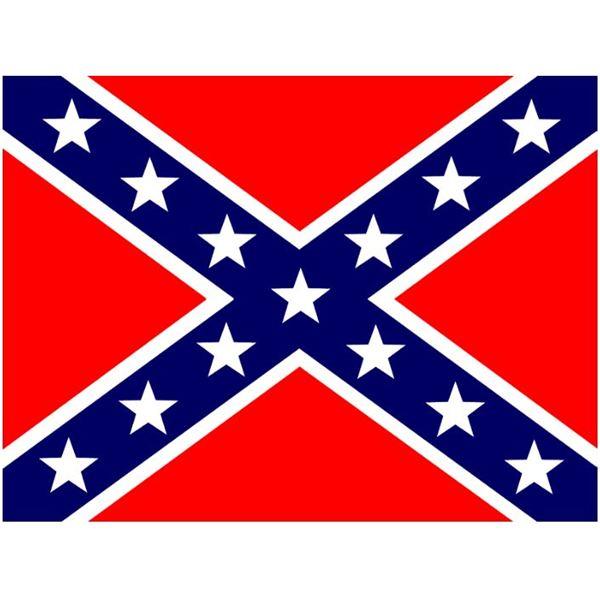 600x600 Confederate Flag Clipart