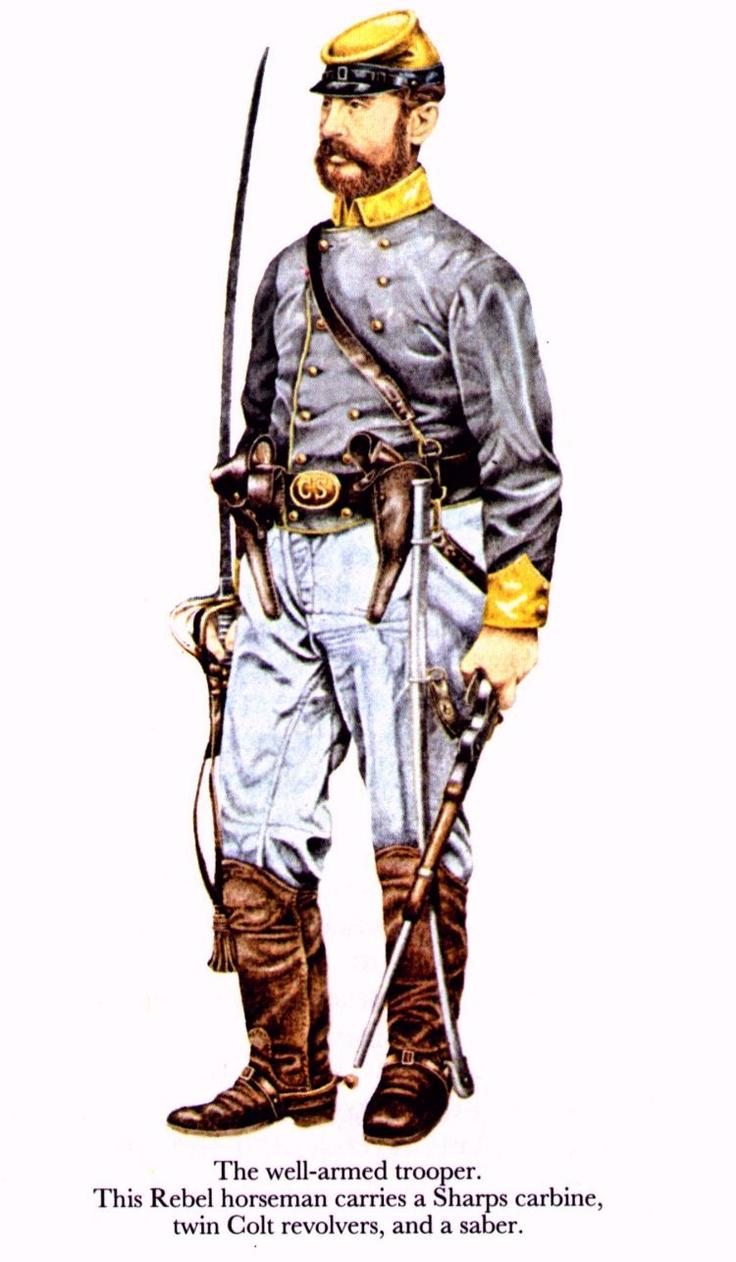 736x1262 Cornol Clipart Confederate Soldier