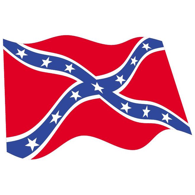 660x660 Confederate Flag Clip Art