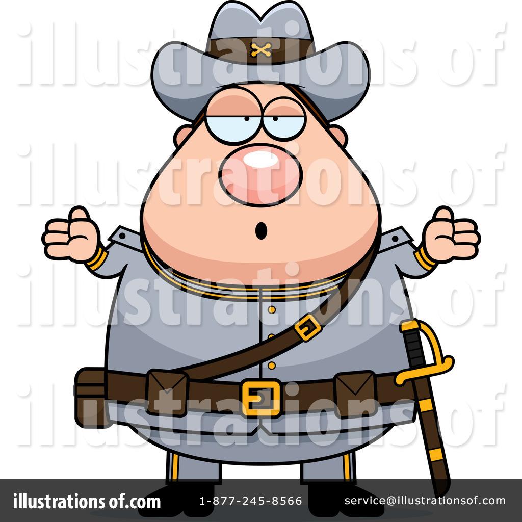 1024x1024 Confederate Soldier Clipart