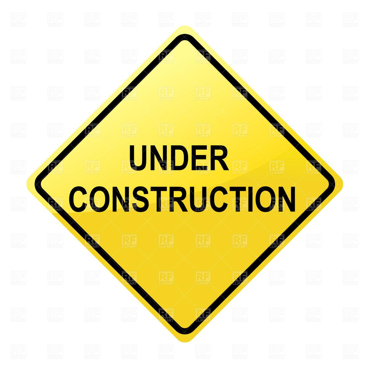 1200x1200 Under Construction Sign Clip Art Under Construction Sign Download