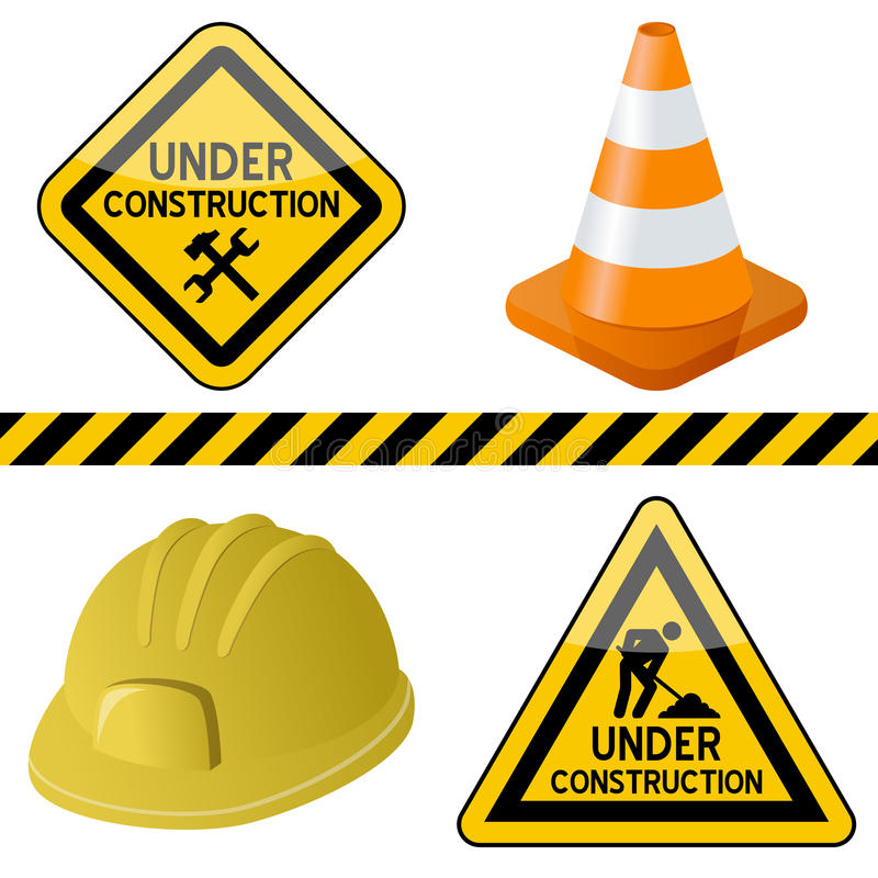 800x800 Construction Symbols Clip Art Under Construction Clipart Free