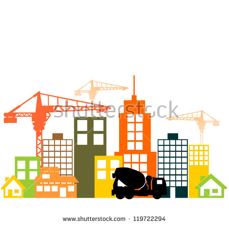 450x443 Collection Of Building Under Construction Clipart High
