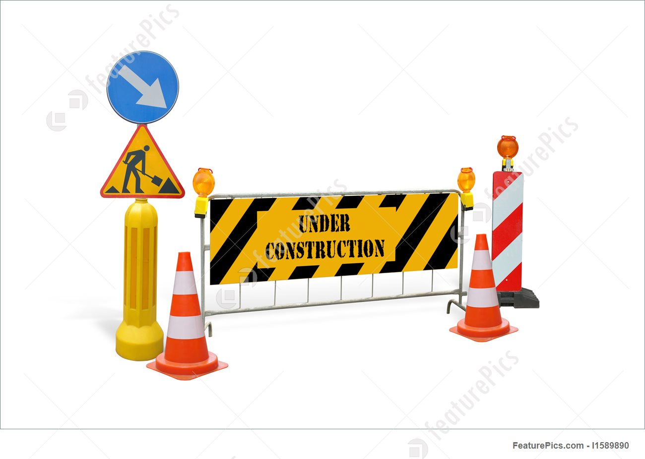 Construction Signs Clipart