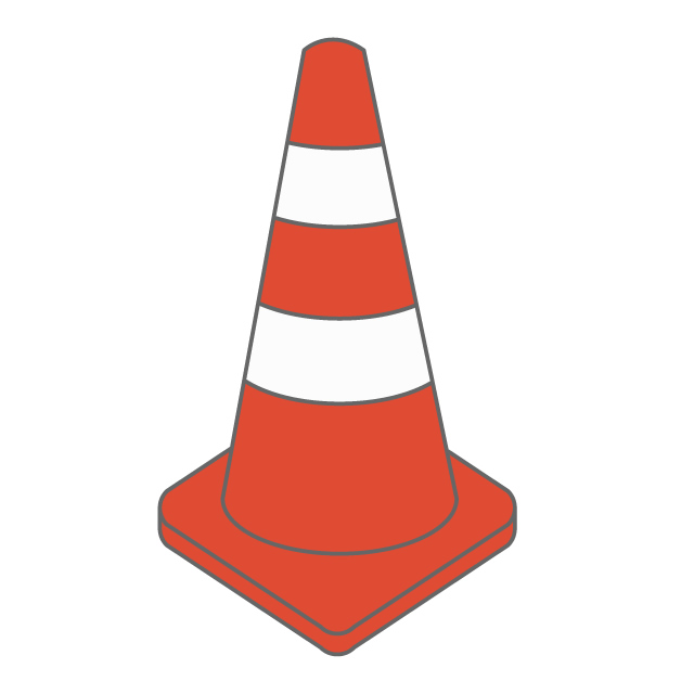 640x640 Color Cone Paul Safety Cone Construction Site Worker