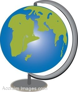 252x300 Clipart World Globe