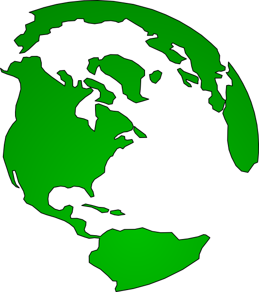 534x601 Continents Clip Art
