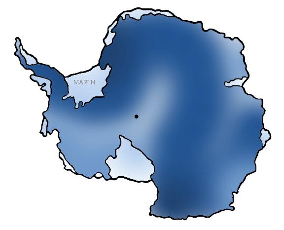 576x466 Continents Clip Art By Phillip Martin, Antarctica Map