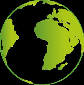 297x298 Earth Continents Clip Art