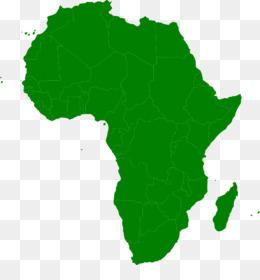 260x280 Africa Vector Map Clip Art