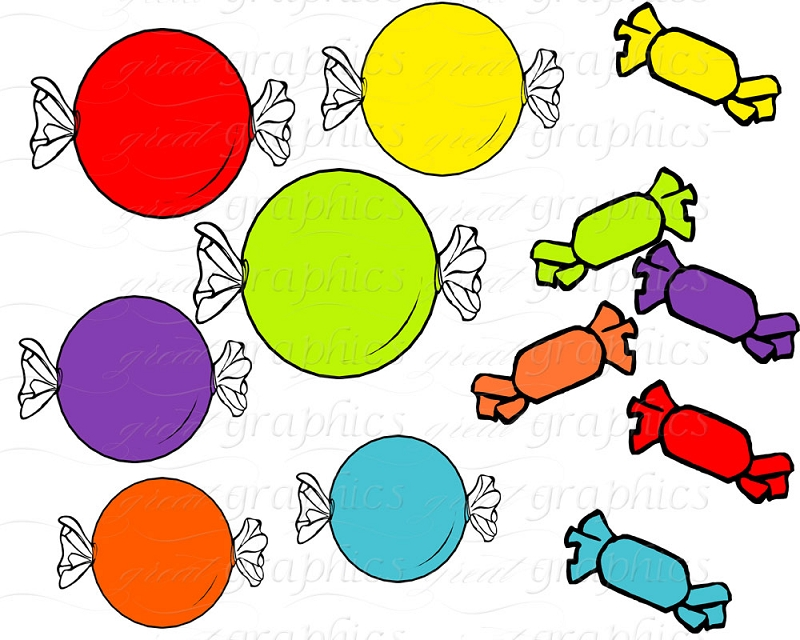 800x640 Candy Clipart Printable