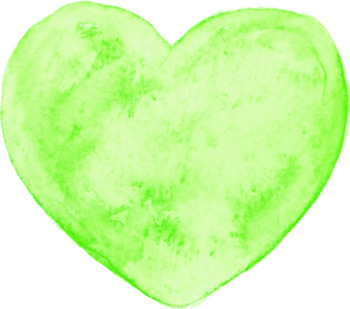 350x309 Customizable Watercolor Candy Conversation Heart Clip Art Tpt