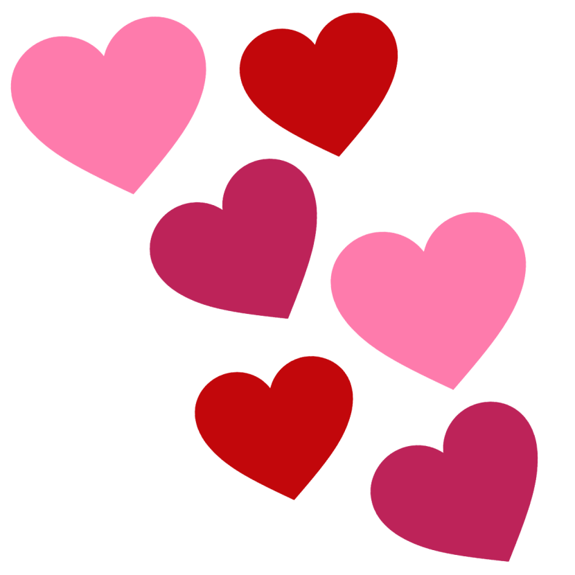 830x830 Collection Of Hearts Clipart Png High Quality, Free Cliparts