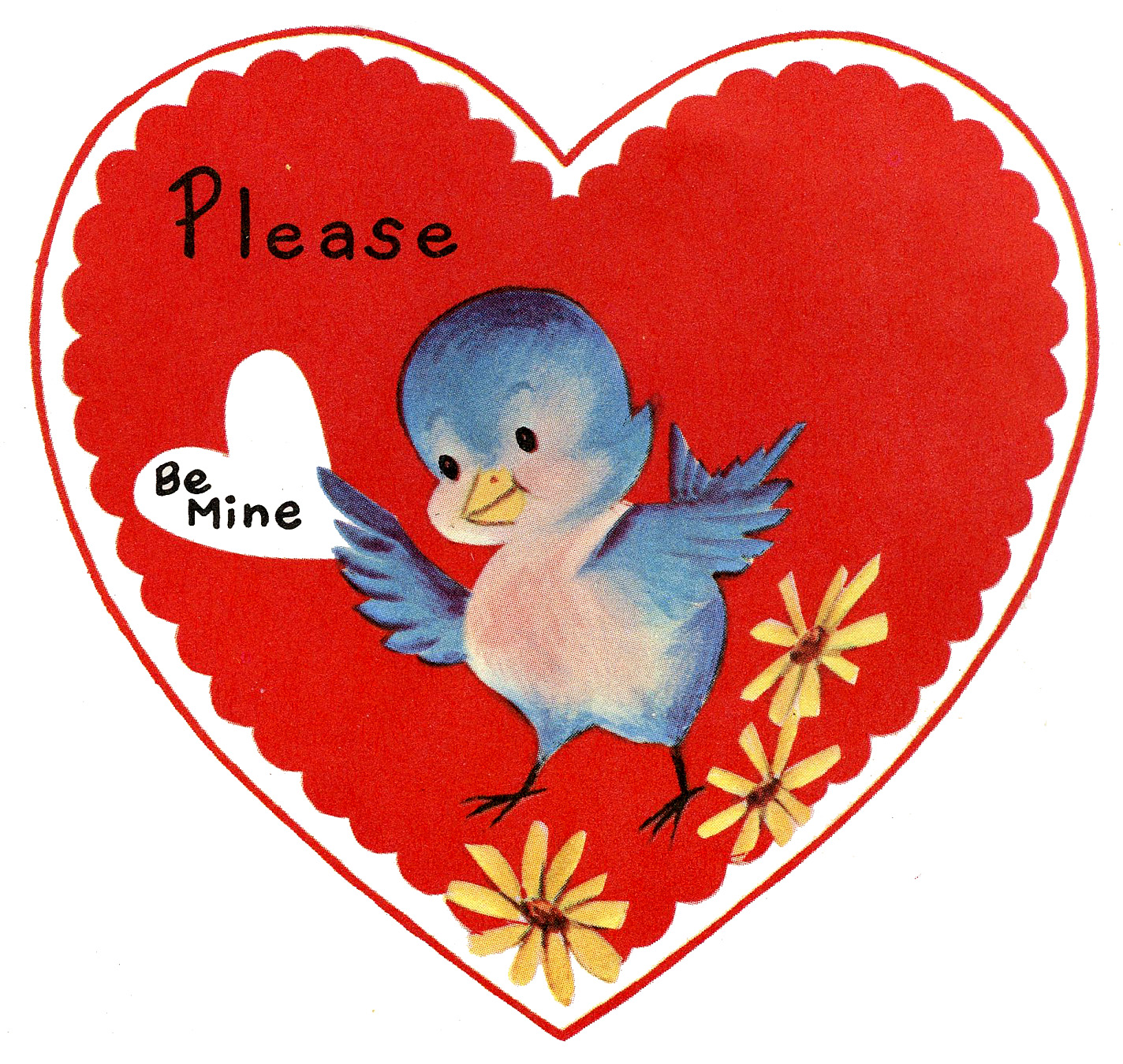 1424x1350 Vintage Valentine Hearts Clip Art Quotes Amp Wishes