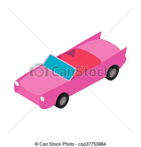450x470 Sports Car Isometric Vector Clipart Royalty Free. 607 Sports Car