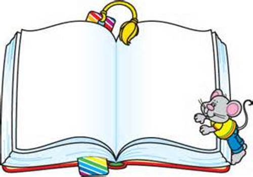 500x350 Book Border Clip Art Free Collection Download And Share Book