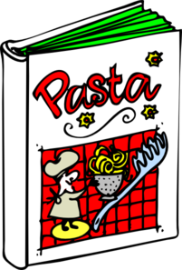 201x297 Pasta Cookbook Clip Art