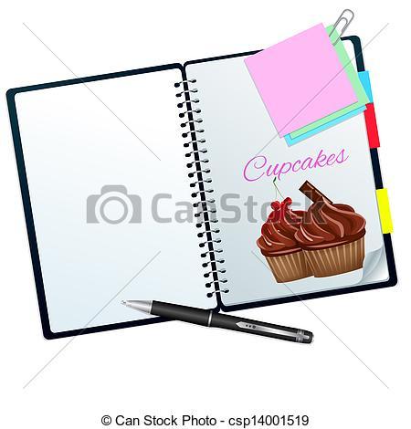 450x470 Clipart For Recipe Book