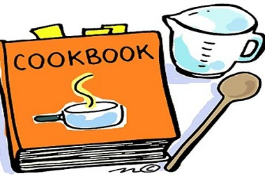 380x253 Cook Book Clip Art Cookbook Fundraiser
