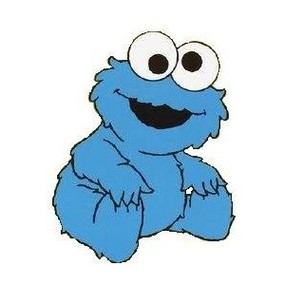 285x285 Cookie Monster Clip Art