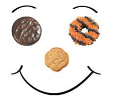 231x220 Girl Scout Cookie Clipart Amp Look At Girl Scout Cookie Clip Art