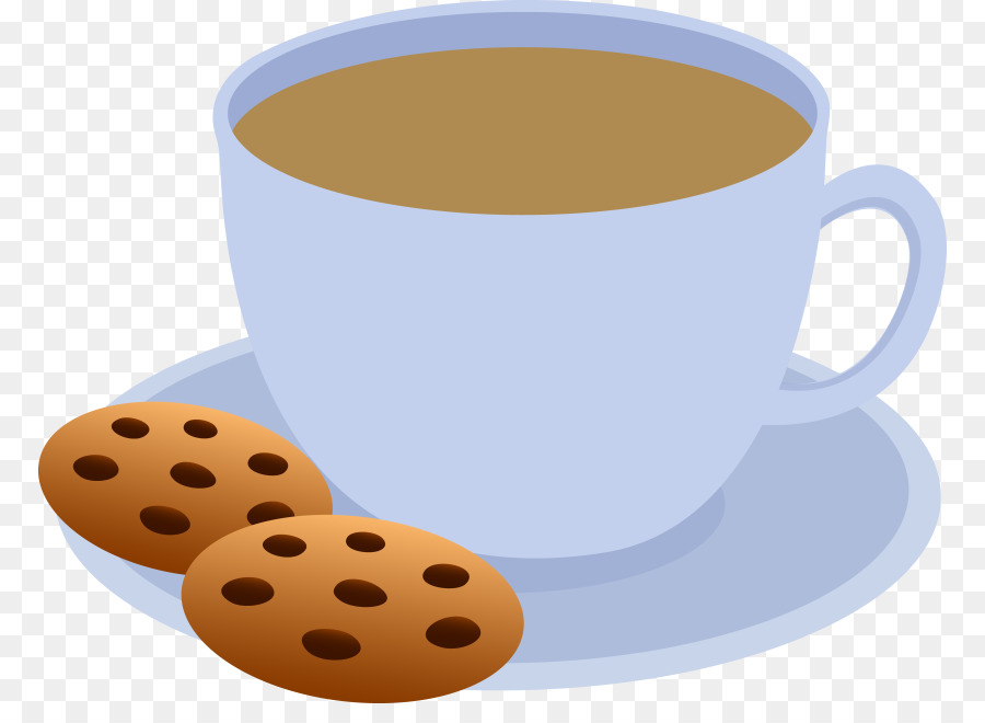 900x660 Tea Coffee Cupcake Chocolate Chip Cookie Clip Art
