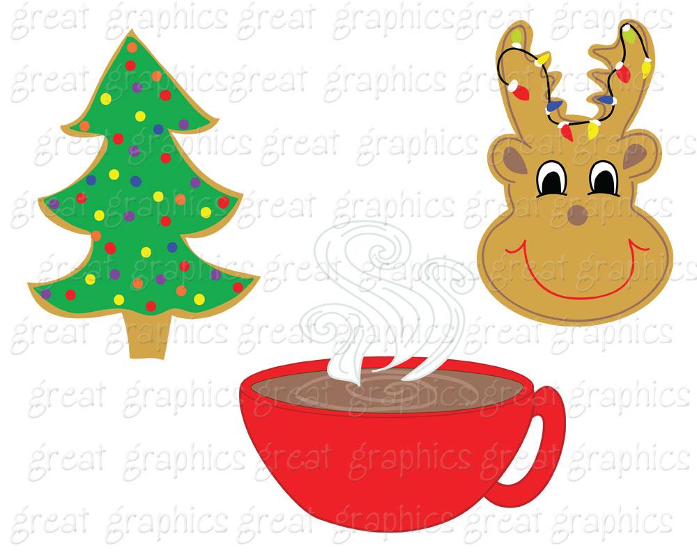 1000x800 Christmas Cookie Clip Art Clipart Panda